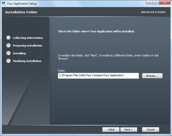 how to change icon executable path