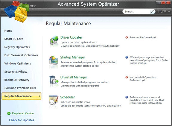 Advanced System Optimizer V3 Screenshot 8