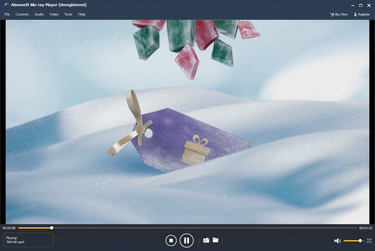 Aiseesoft Blu-ray Player Screenshot