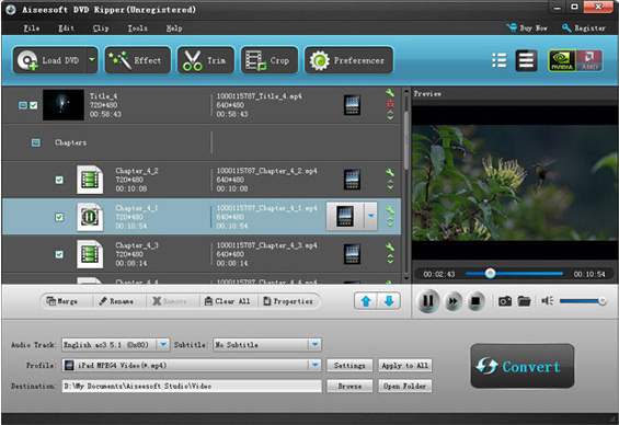 DVD Studio Software Screenshot