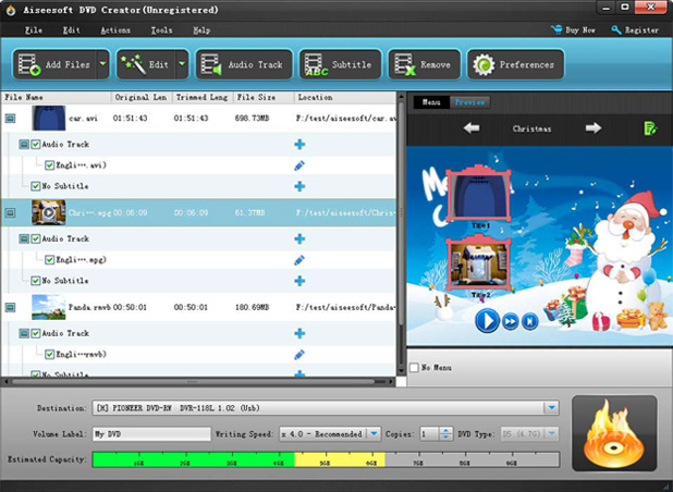 Video Converter Software, Aiseesoft DVD Converter Suite Ultimate Screenshot