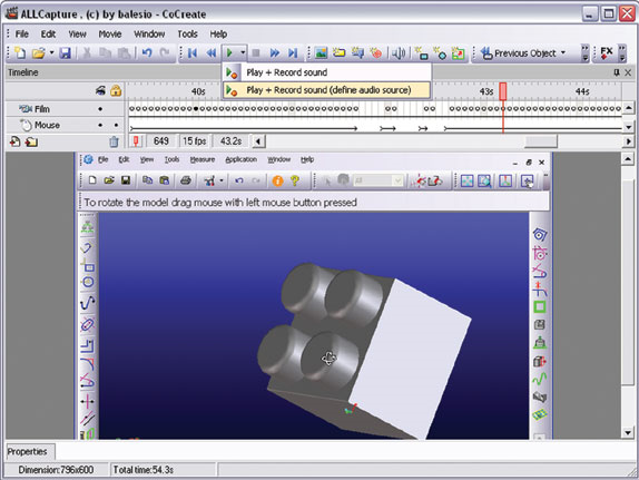 ALLCapture 3.0, Video Software Screenshot