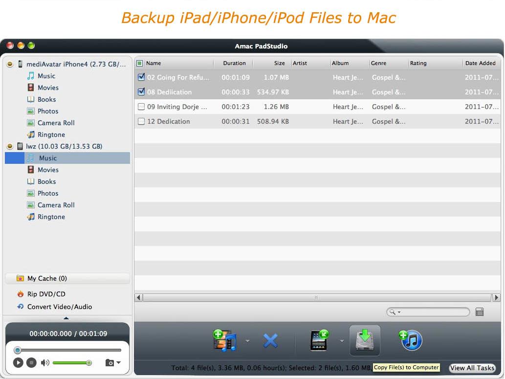 Video Converter Software, Amac PadStudio Screenshot