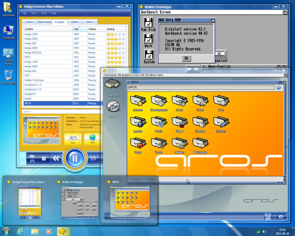 Games Software Screenshot