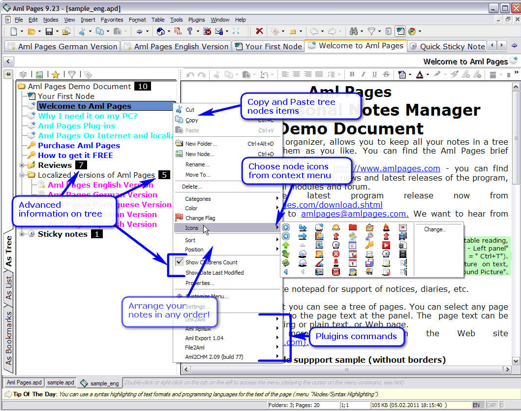 Hobby, Educational & Fun Software, Cataloging Software Screenshot
