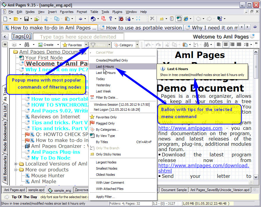 Productivity Software, Aml Pages Home License Screenshot