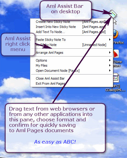 PIM Software, Aml Pages Home License Screenshot