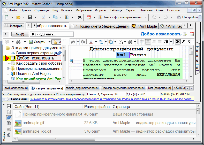Aml Pages (Home License) Screenshot
