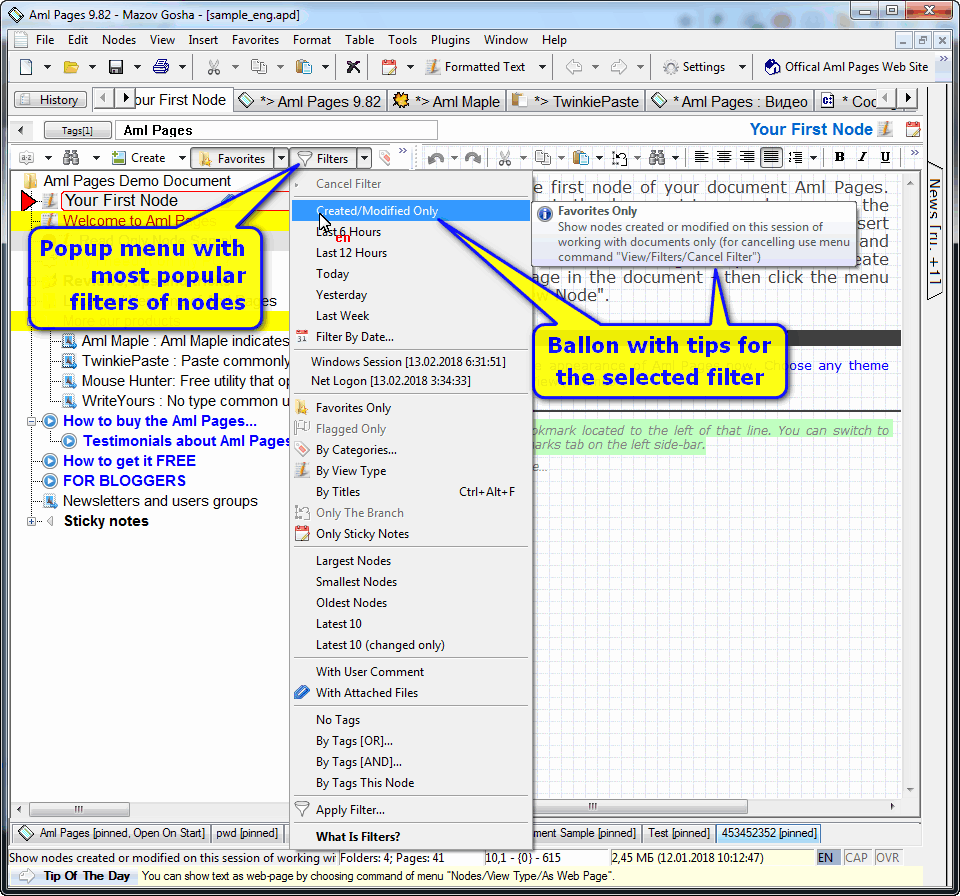 Aml Pages (Home License) Screenshot 10