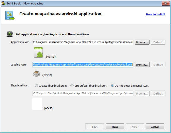 Android Book/Magazine App Maker Bundle, Development Software Screenshot