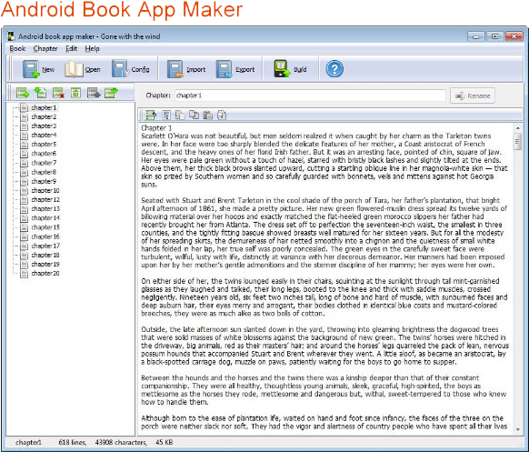 Development Software, Android Book/Magazine App Maker Bundle Screenshot