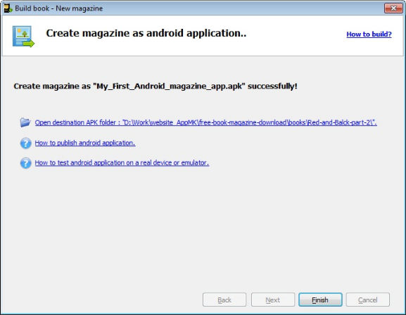 Development Tools Software, Android Book/Magazine App Maker Bundle Screenshot
