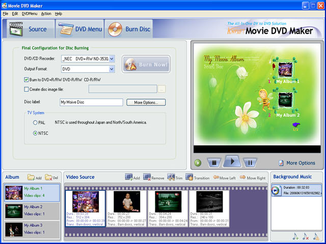 Anvsoft Movie Dvd Maker Video Editing Software For Pc