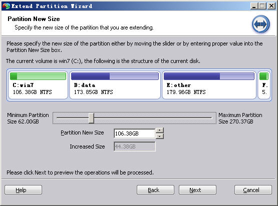 AOMEI Partition Assistant Professional Edition Screenshot