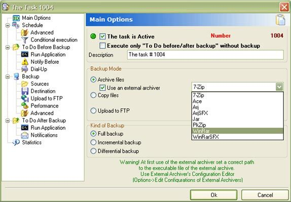 APBackup Screenshot
