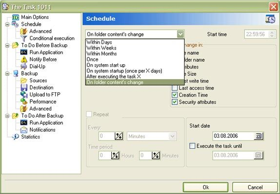 Security Software, APBackup Screenshot