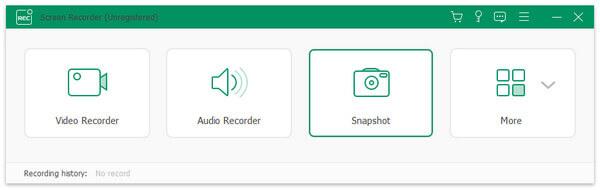 Apeaksoft Screen Recorder, MP3 Recording Software Screenshot