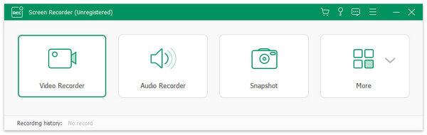 Apeaksoft Screen Recorder Screenshot