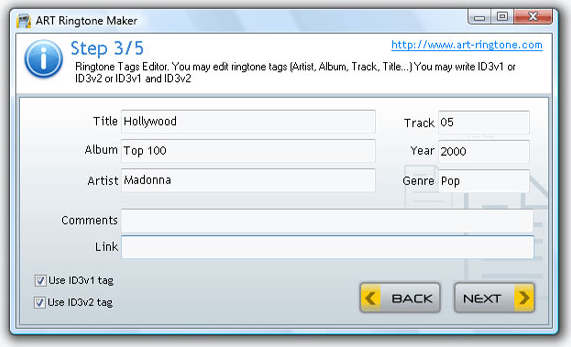 Ringtone Maker Software Screenshot