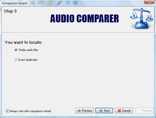 Duplicate Files Software Screenshot