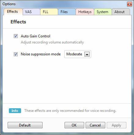 Recording Studio Software Screenshot