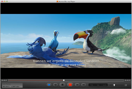 Aurora Blu-ray Player, Video Software Screenshot