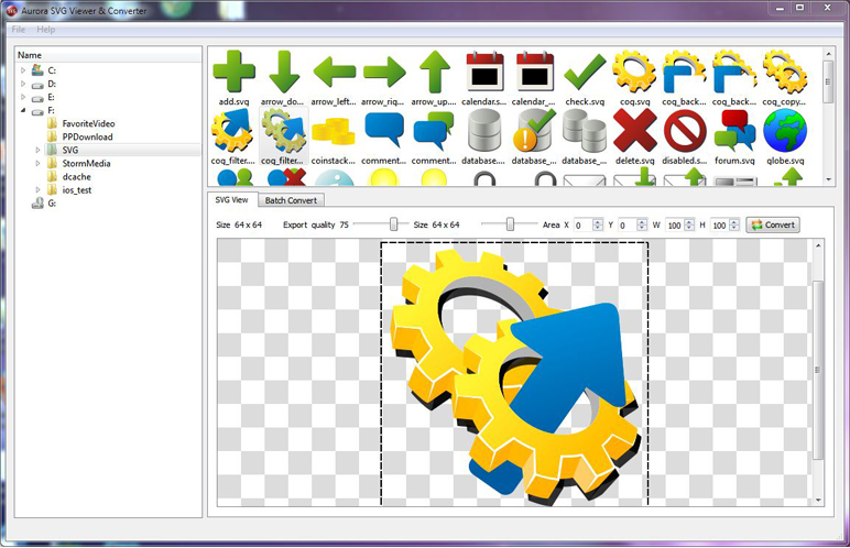Aurora Svg Viewer Converter Batch Image Software 20