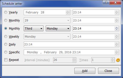 Internet Software, Auto Mail Sender™ Standard Edition Screenshot