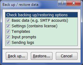 Auto Mail Sender™ Standard Edition Screenshot 13
