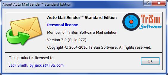 Auto Mail Sender™ Standard Edition Screenshot 12