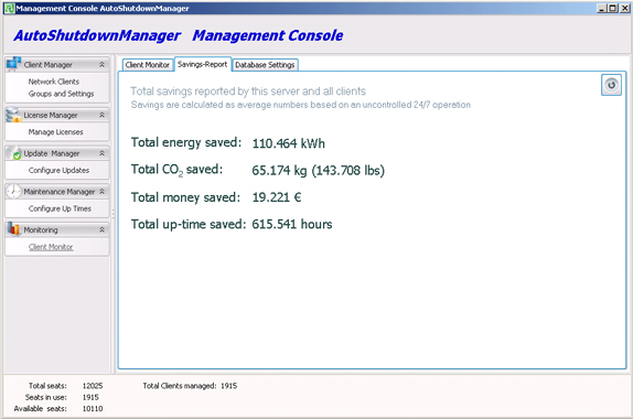 Auto Shutdown Manager 4 (3 PC License) Screenshot