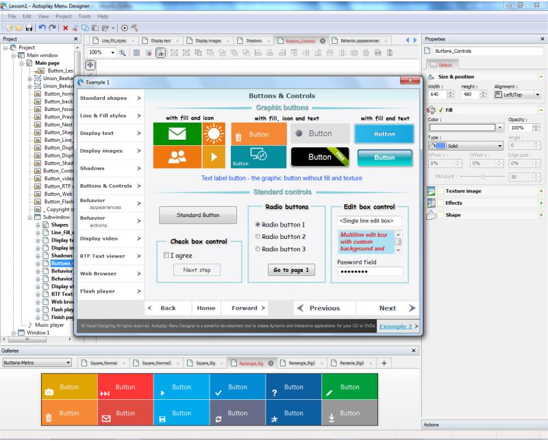 Business & Finance Software, Autoplay Menu Designer Business License Screenshot