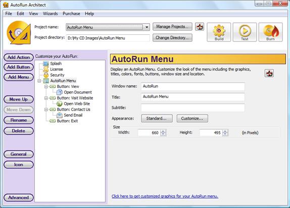 Presentation Software Screenshot
