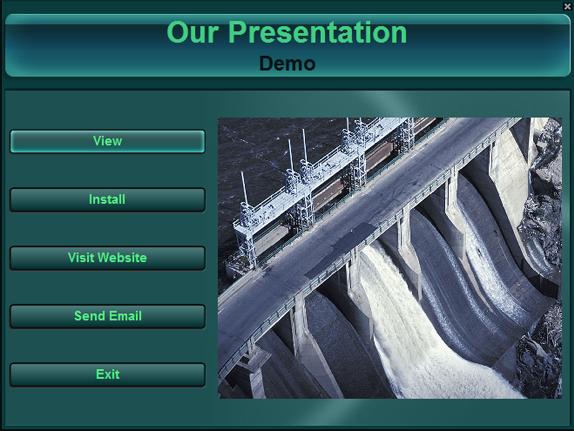 AutoRun Architect, Presentation Software Screenshot