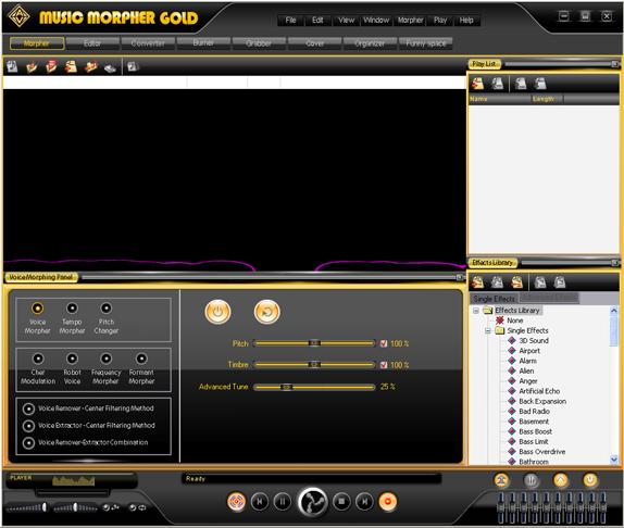 AV Music Morpher Gold Screenshot