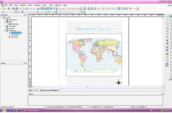 Vector Drawing Software Screenshot
