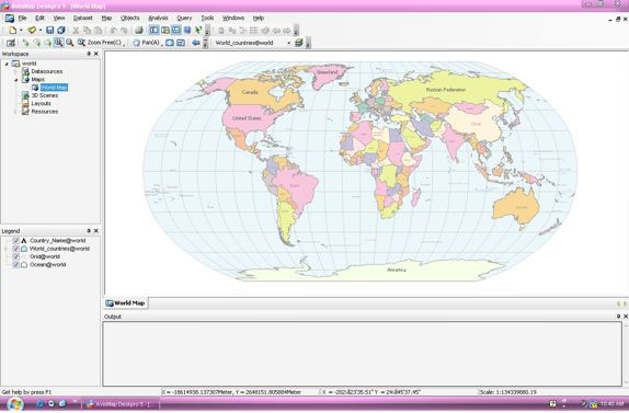 AvisMap Deskpro Screenshot