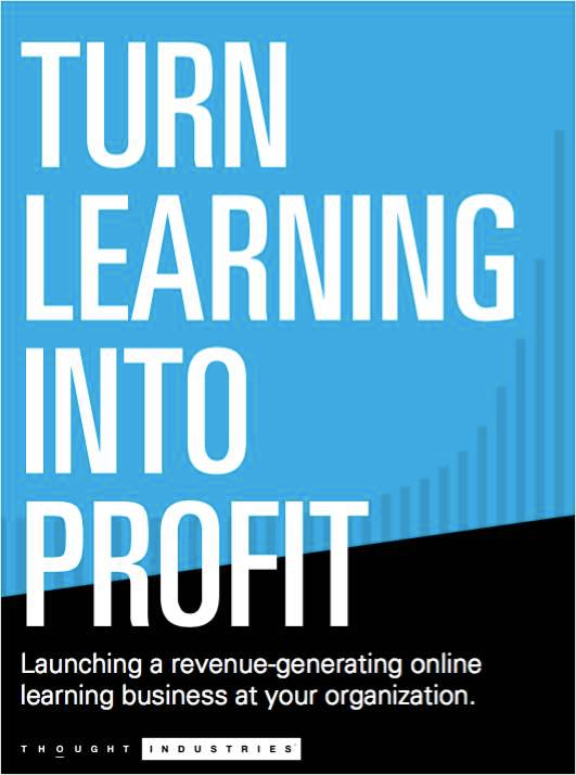 B2B Training and Information Delivery - Turn Online Learning Into Profit Screenshot