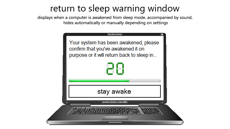 BackToSleep Screenshot