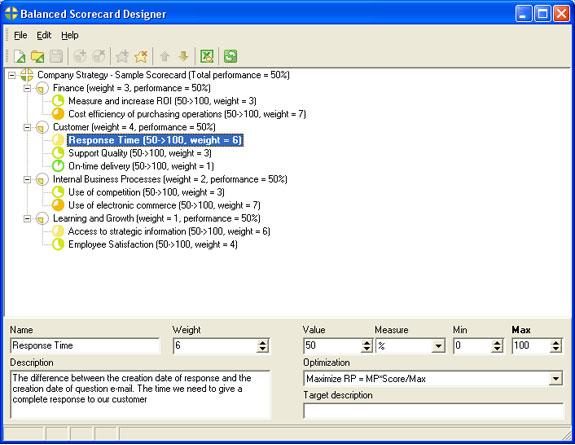 BSC Designer Standard Screenshot
