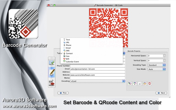 Barcode Software Screenshot