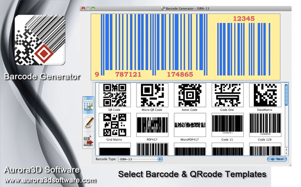 Barcode Generator Screenshot