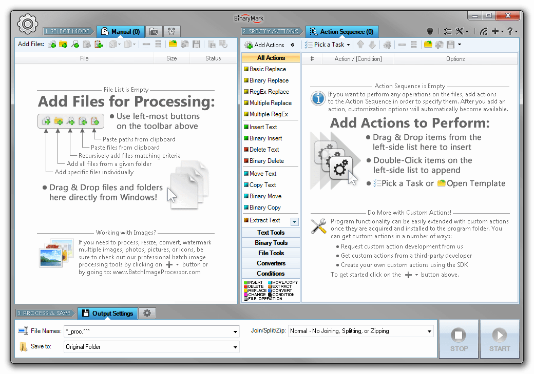 Batch Encoding Converter, Development Tools Software Screenshot