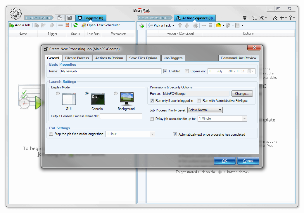 Development Software, Batch Encoding Converter Screenshot