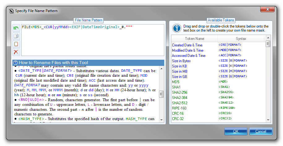 Batch RegEx Screenshot 9