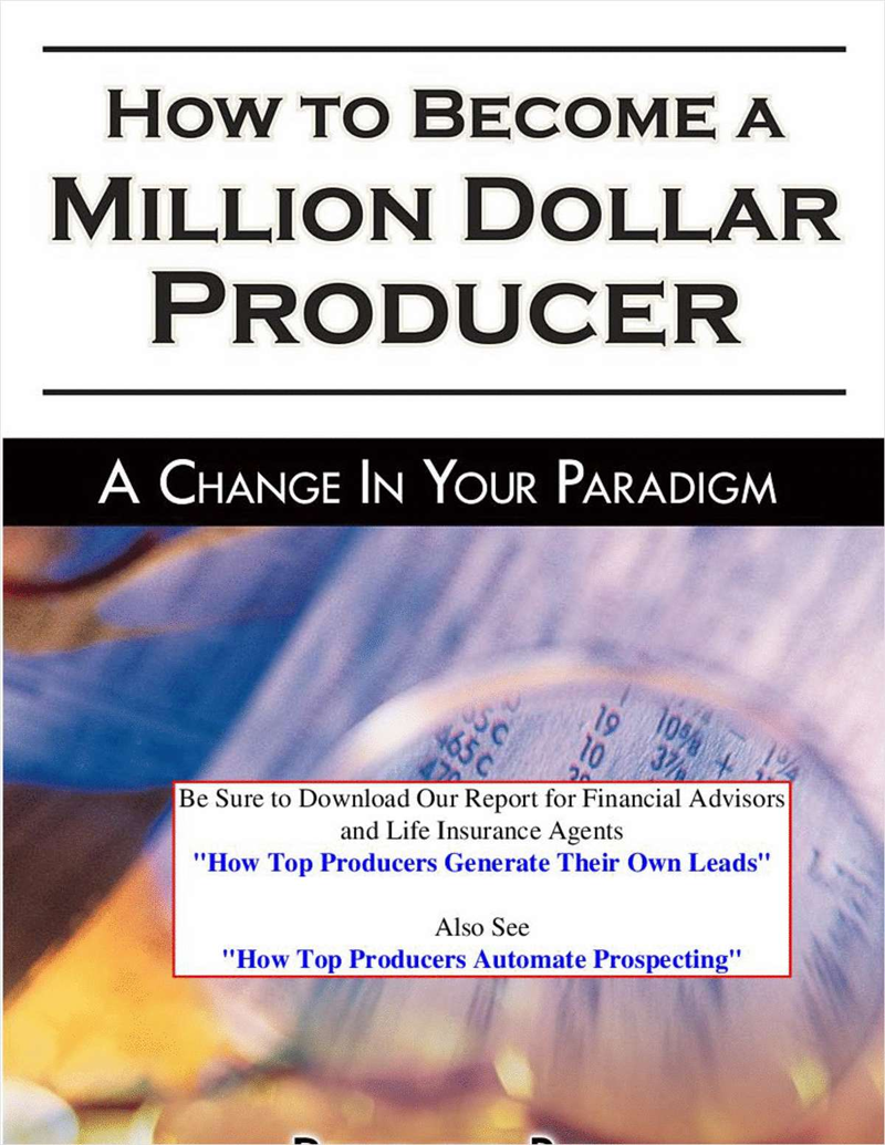 Become a Million Dollar Producer Screenshot