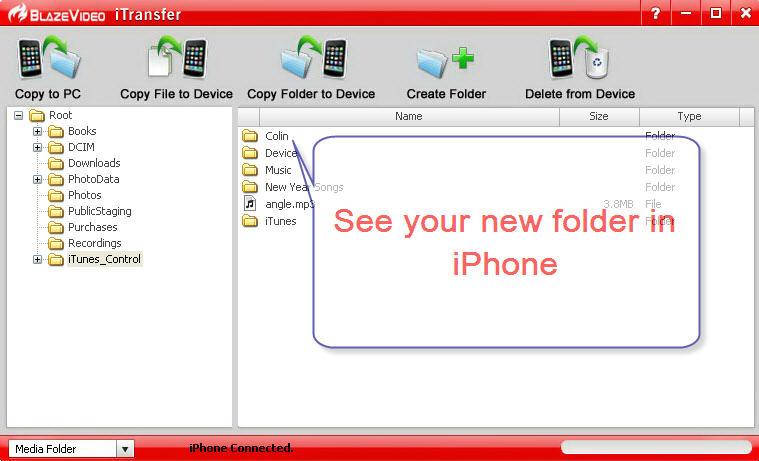 BlazeVideo iTransfer, Audio Software, iPod iPhone iTunes Software Screenshot