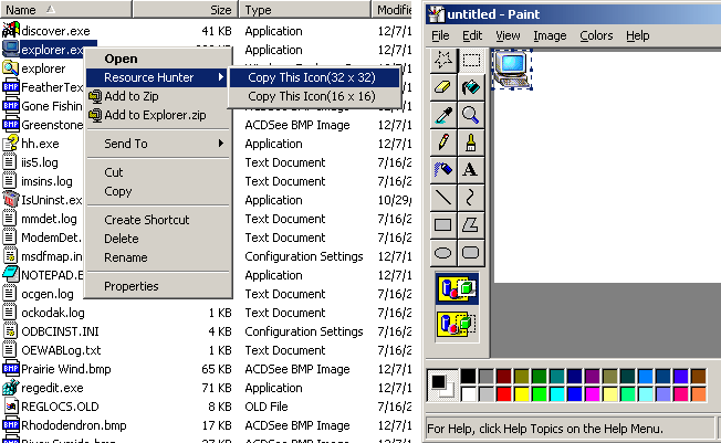 Boilsoft Resource Hunter Screenshot