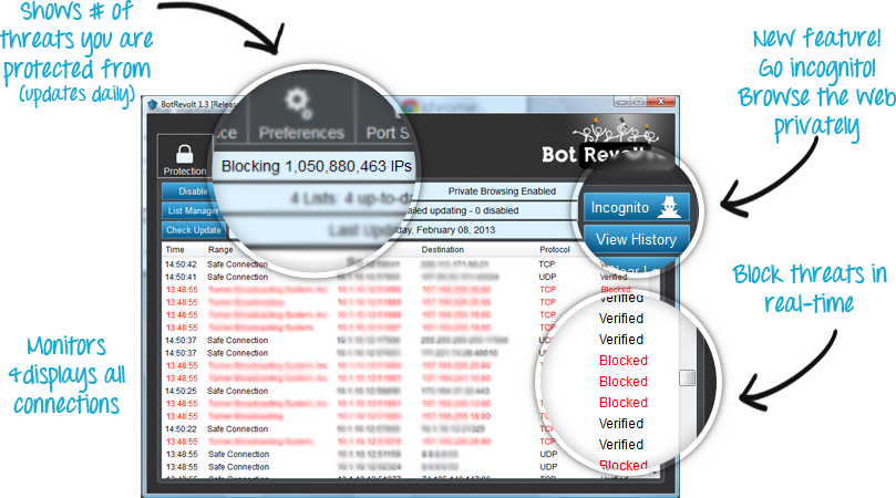 Bot Revolt Anti-Malware (6-Month) Screenshot