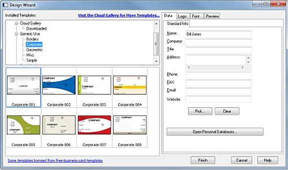 Business card designer plus job search business card software business card designer plus screenshot job search business card software screenshot colourmoves